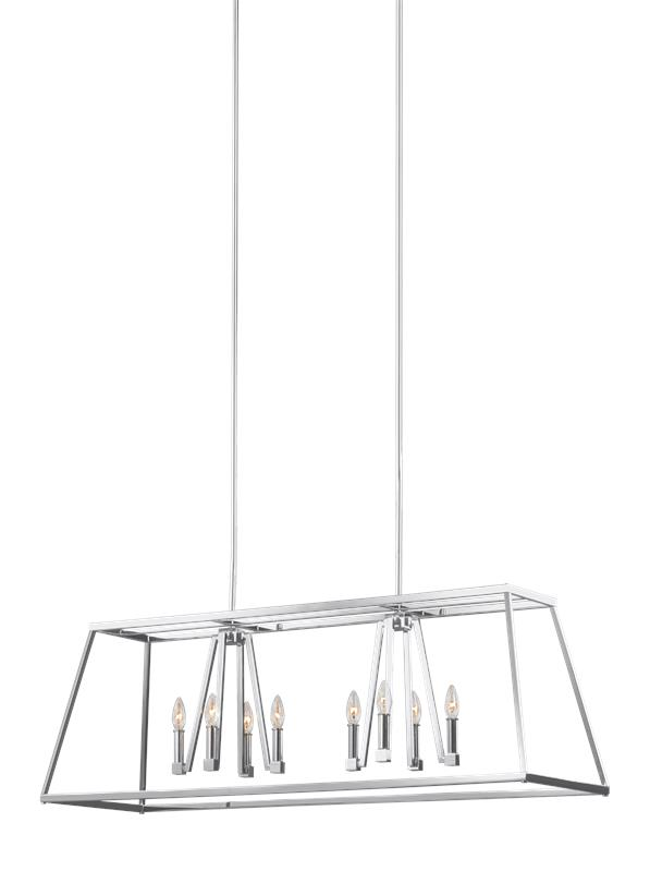 Conant 8 - Light Island Chandelier