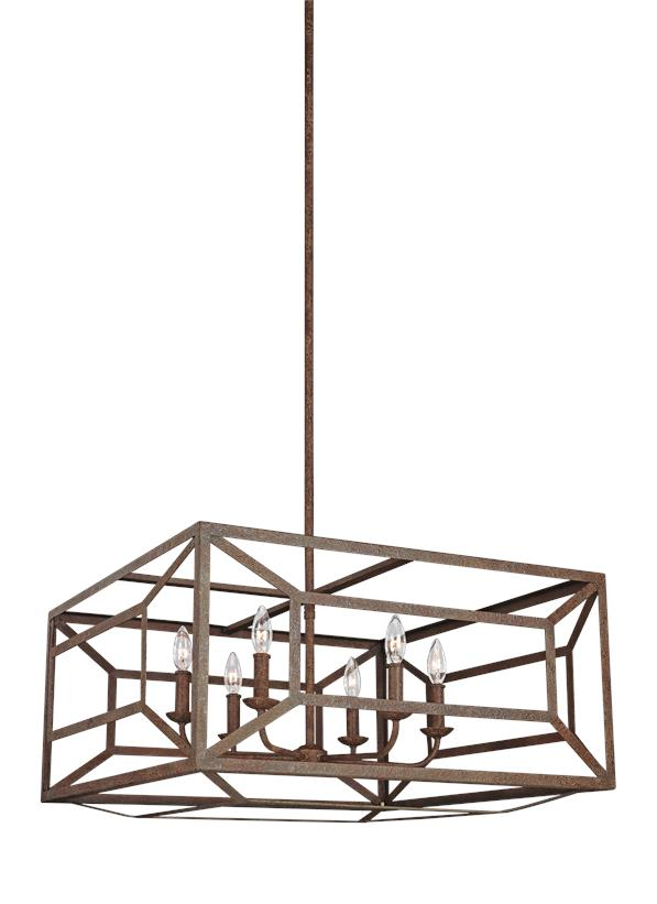 Marquelle 6 - Light Chandelier