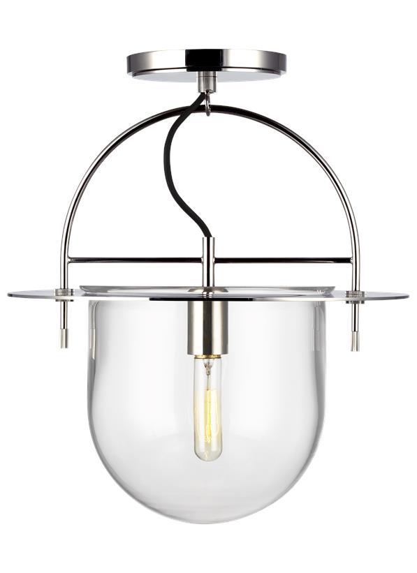 Nuance 1 - Light Medium Semi-Flush Mount