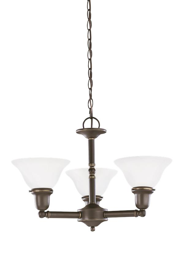 Sussex Three Light Chandelier