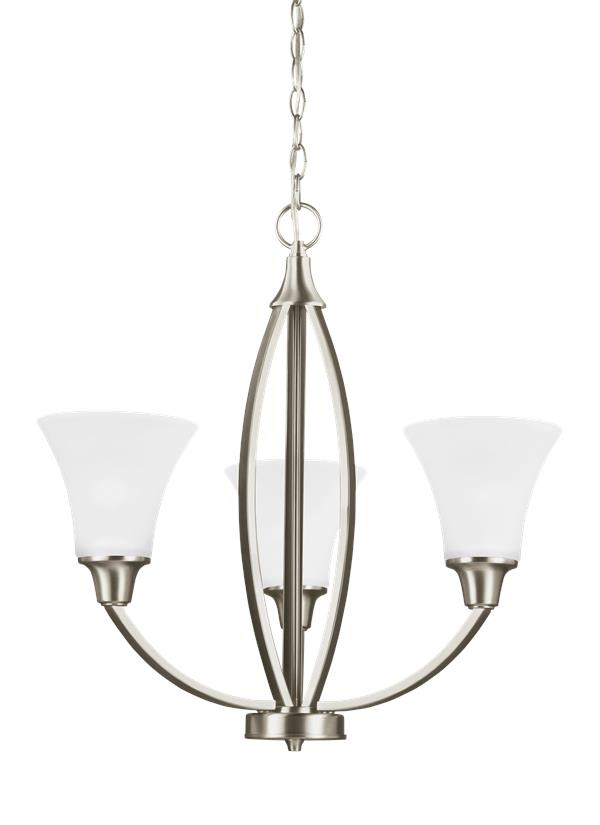 Metcalf Three Light Chandelier