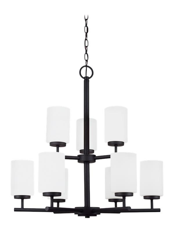 Oslo Nine Light Chandelier