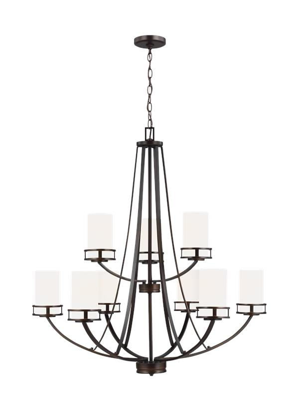 Robie Nine Light Chandelier