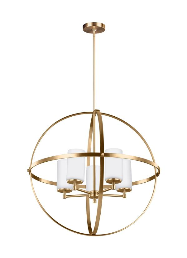 Alturas Five Light Chandelier