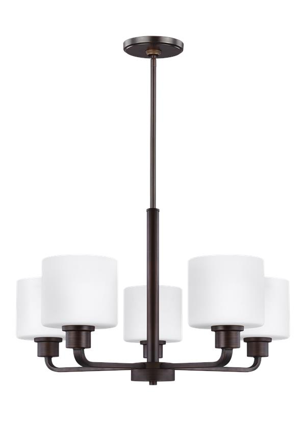 Canfield Five Light Chandelier