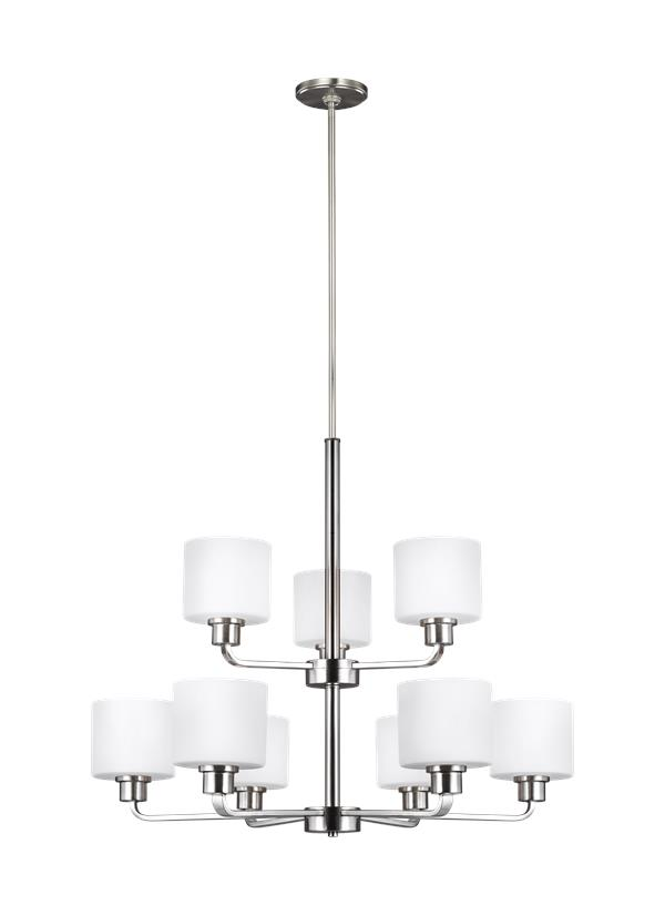 Canfield Nine Light Chandelier