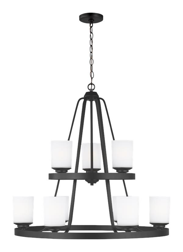 Kemal Nine Light Chandelier