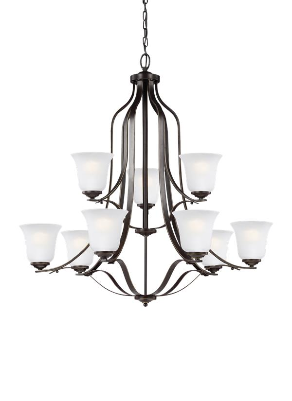 Emmons Nine Light Chandelier