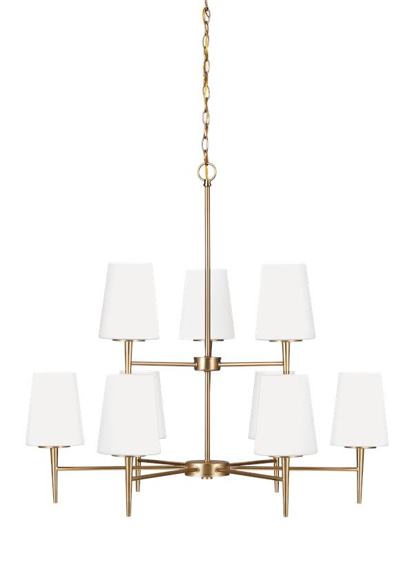 Driscoll Nine Light Chandelier