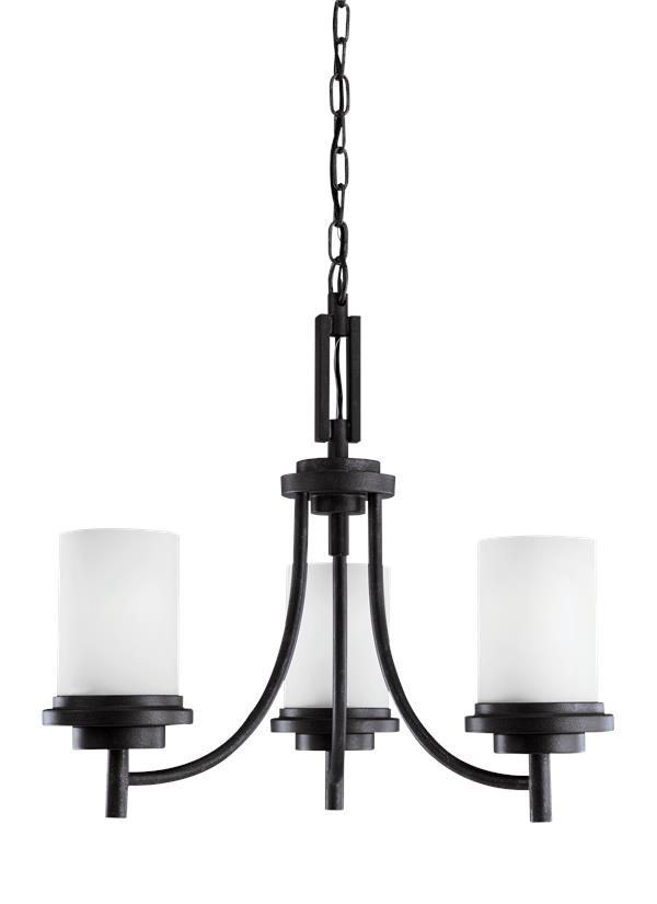 Winnetka Three Light Chandelier