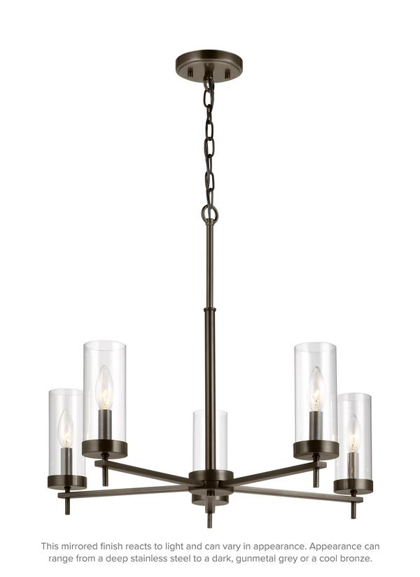 Zire Five Light Chandelier