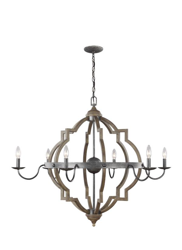 Socorro Six Light Chandelier