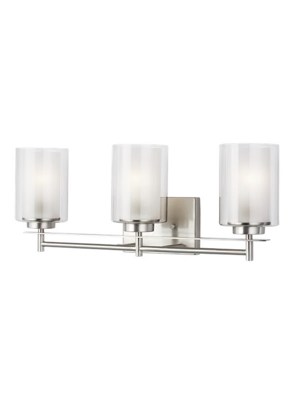 Elmwood Park Three Light Bath