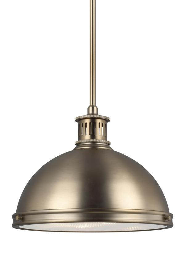 Pratt Street Metal Two Light Pendant