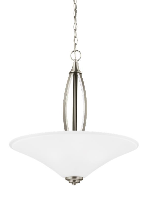 Metcalf Three Light Pendant