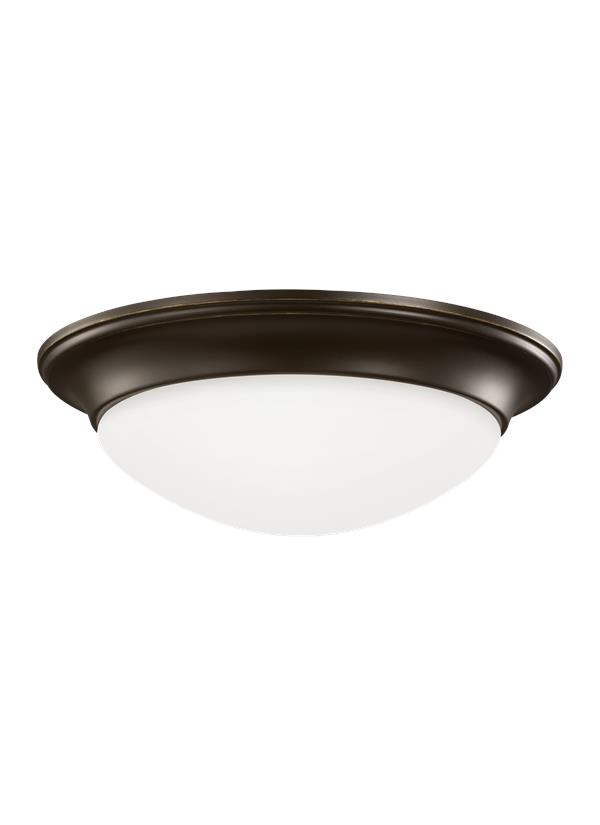 Nash Three Light Flush Mount