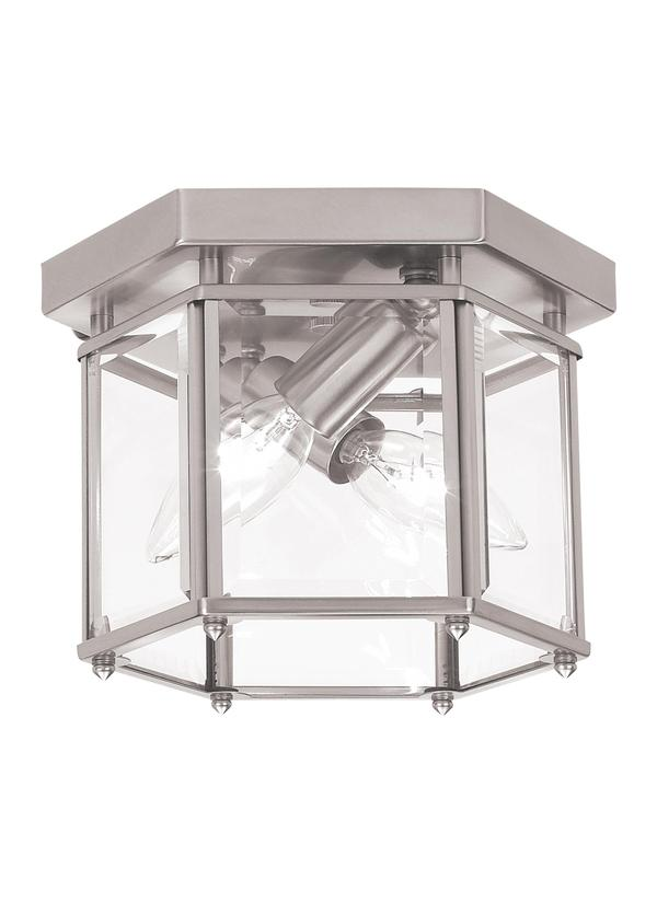 Bretton Two Light Flush Mount