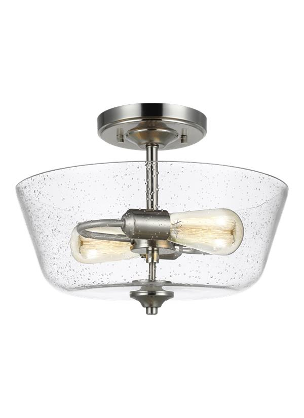 Belton Two Light Ceiling Semi-Flush Mount