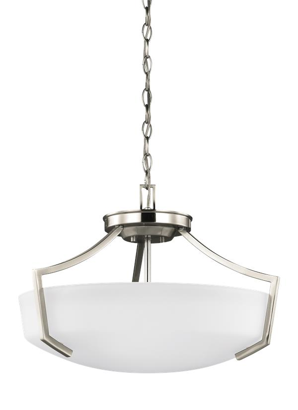 Hanford Three Light Ceiling Convertible Pendant