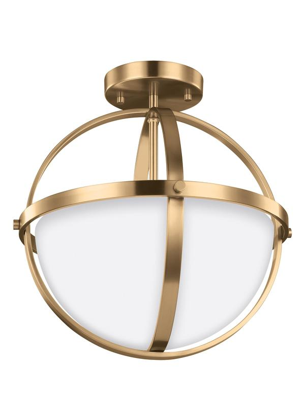 Alturas Two Light Semi-Flush Convertible Pendant