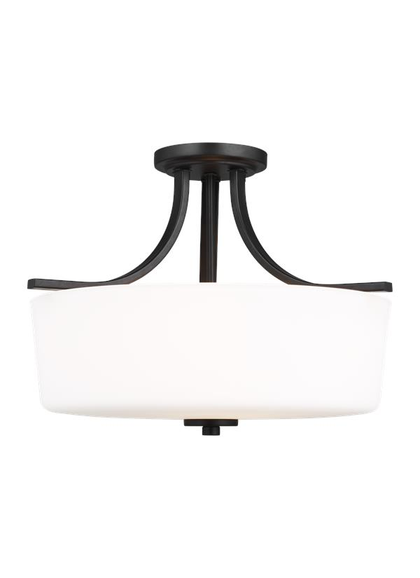 Kemal Three Light Semi-Flush Mount