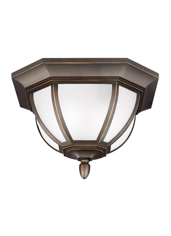 Childress Two Light Outdoor Flush Mount
