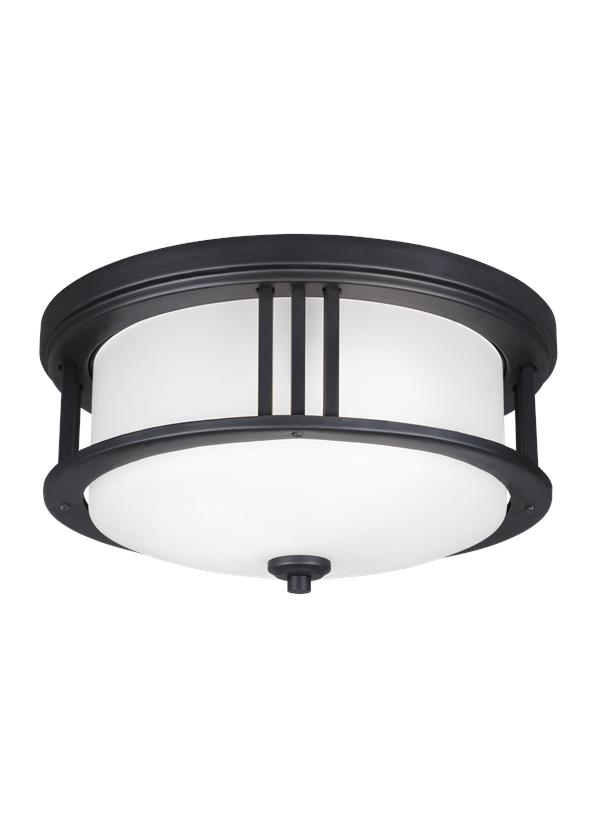 Crowell Two Light Outdoor Flush Mount