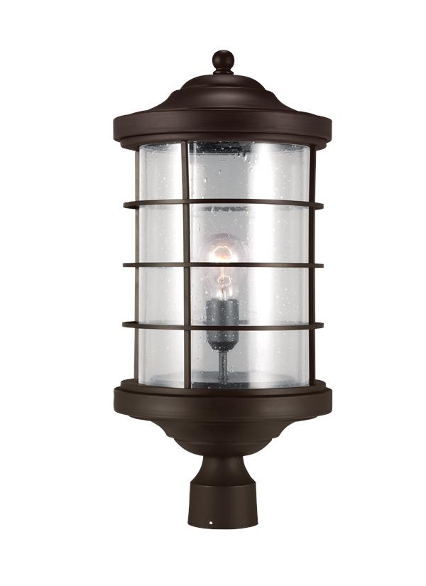 Sauganash One Light Outdoor Post Lantern