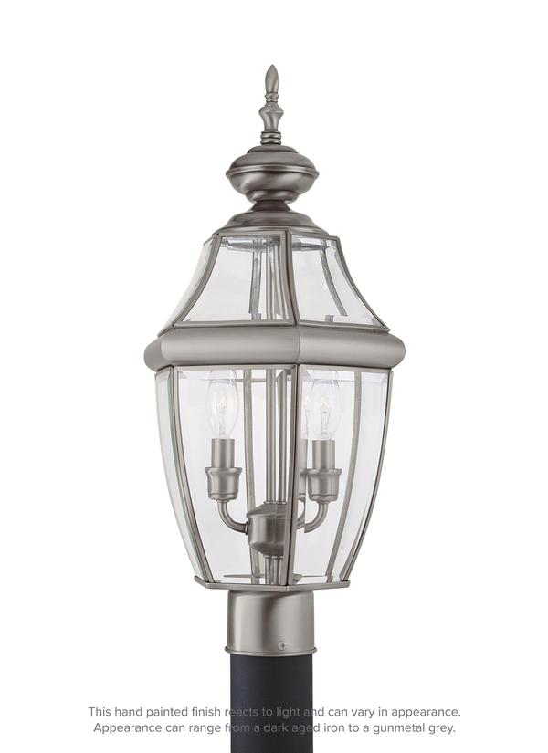 Lancaster Two Light Outdoor Post Lantern