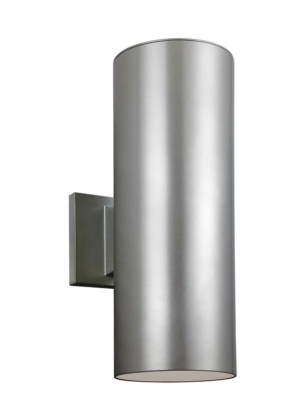 Outdoor Cylinders Two Light Outdoor Wall Lantern