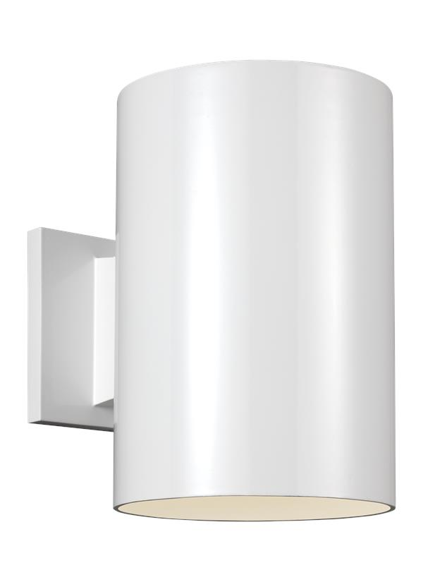 Outdoor Cylinders Large One Light Outdoor Wall Lantern