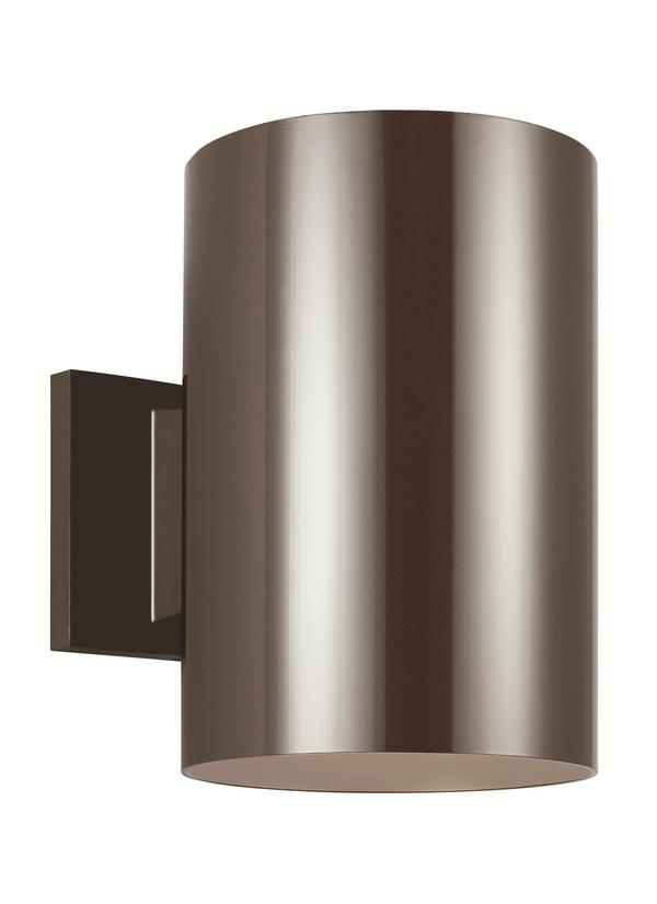 Outdoor Cylinders Large LED Wall Lantern