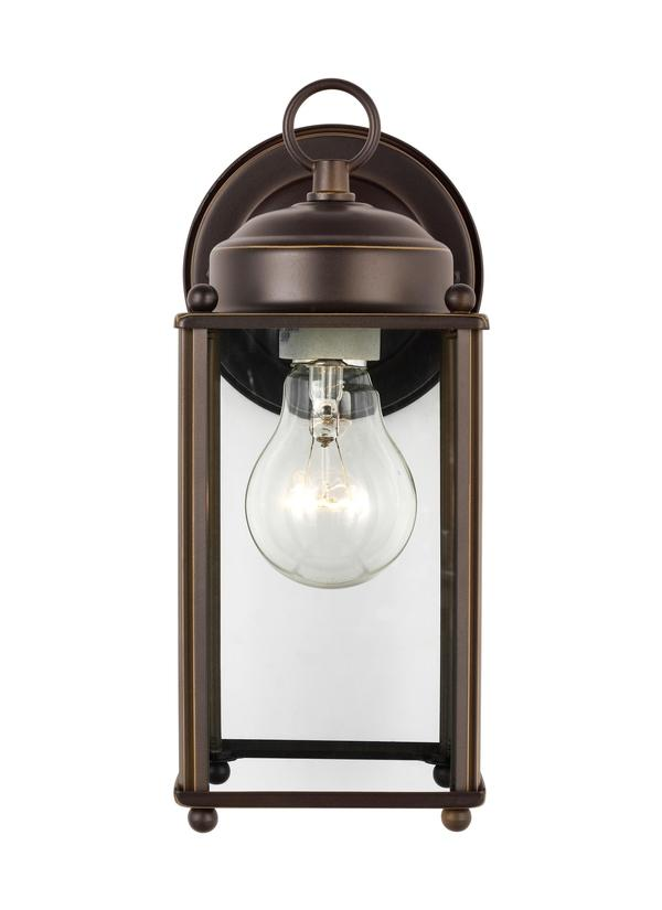 New Castle Large One Light Outdoor Wall Lantern