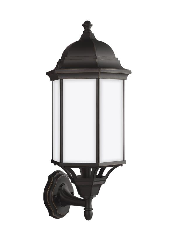 Sevier Large One Light Uplight Outdoor Wall Lantern