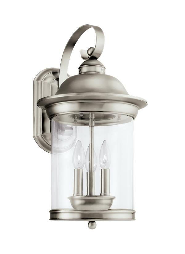 Hermitage Three Light Outdoor Wall Lantern