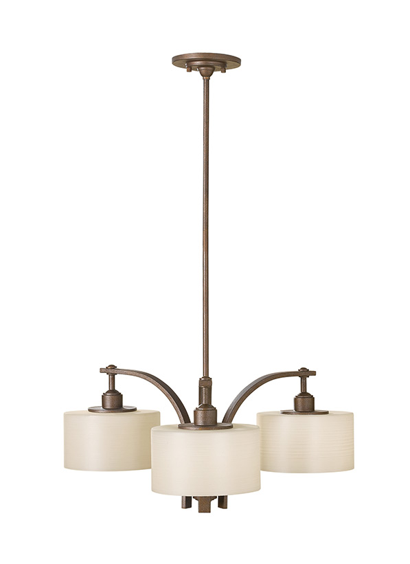 Sunset Drive Three Light Kitchen Chandelier