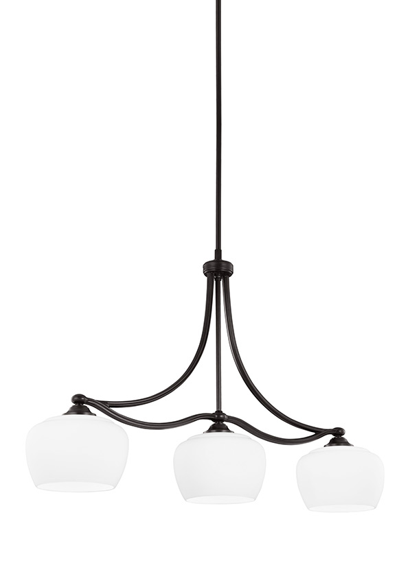 Vintner Three Light Island Chandelier