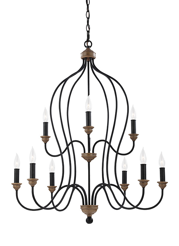Hartsville Nine Light Chandelier