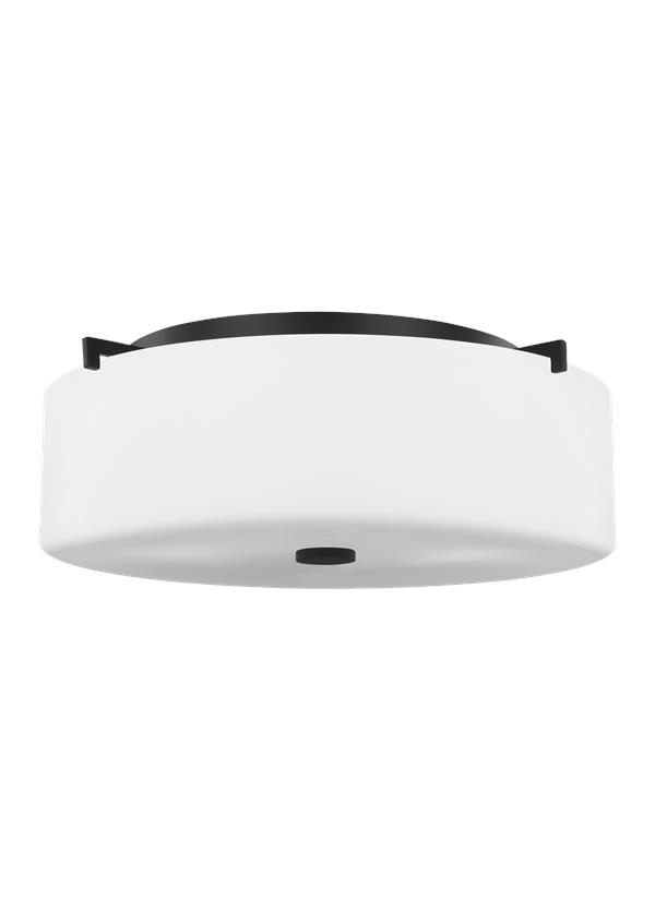 Sunset Drive Large Three Light Flush Mount