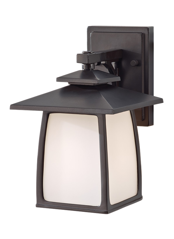 Wright House Small One Light Outdoor Wall Lantern