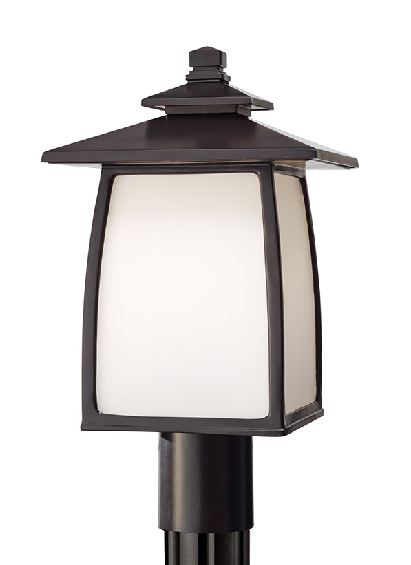 Wright House One Light Outdoor Post Lantern