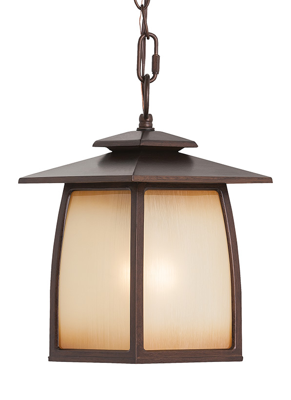 Wright House One Light Outdoor Pendant Lantern