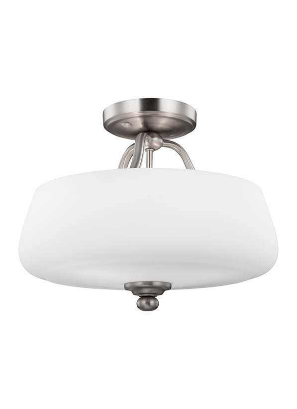 Vintner Three Light Semi-Flush Mount